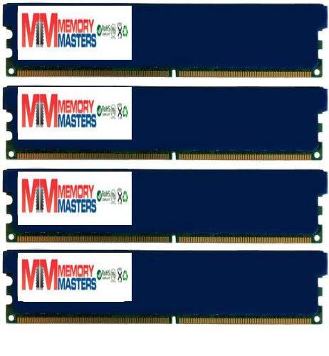MemoryMasters 8GB (4 X 2GB) DDR2 DIMM (240 PIN) AM2 1066Mhz PC2 8500 for Jetway JHA07-ULTRA-LF 8 GB