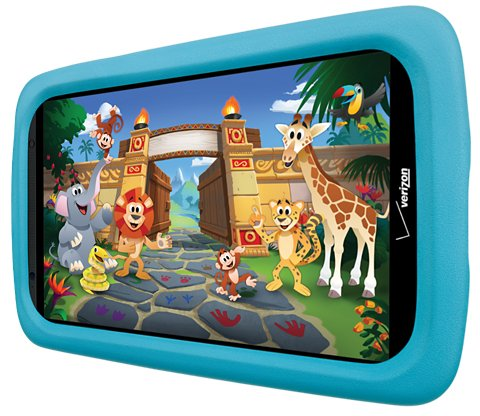 Verizon Ellipsis Case Kid Friendly Tablet