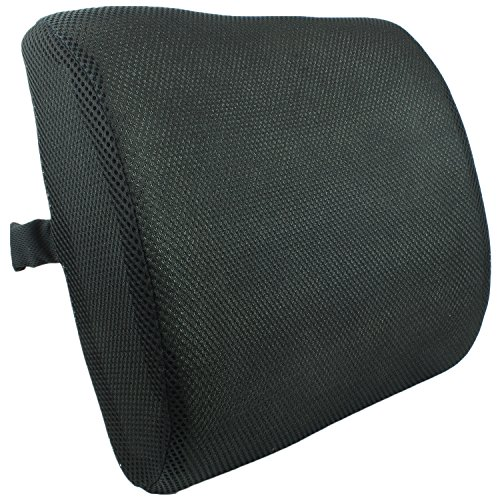 Lumbar Support Back Cushion Pillow for Backrest in Office Chairs and Car Seats by bogo Brands