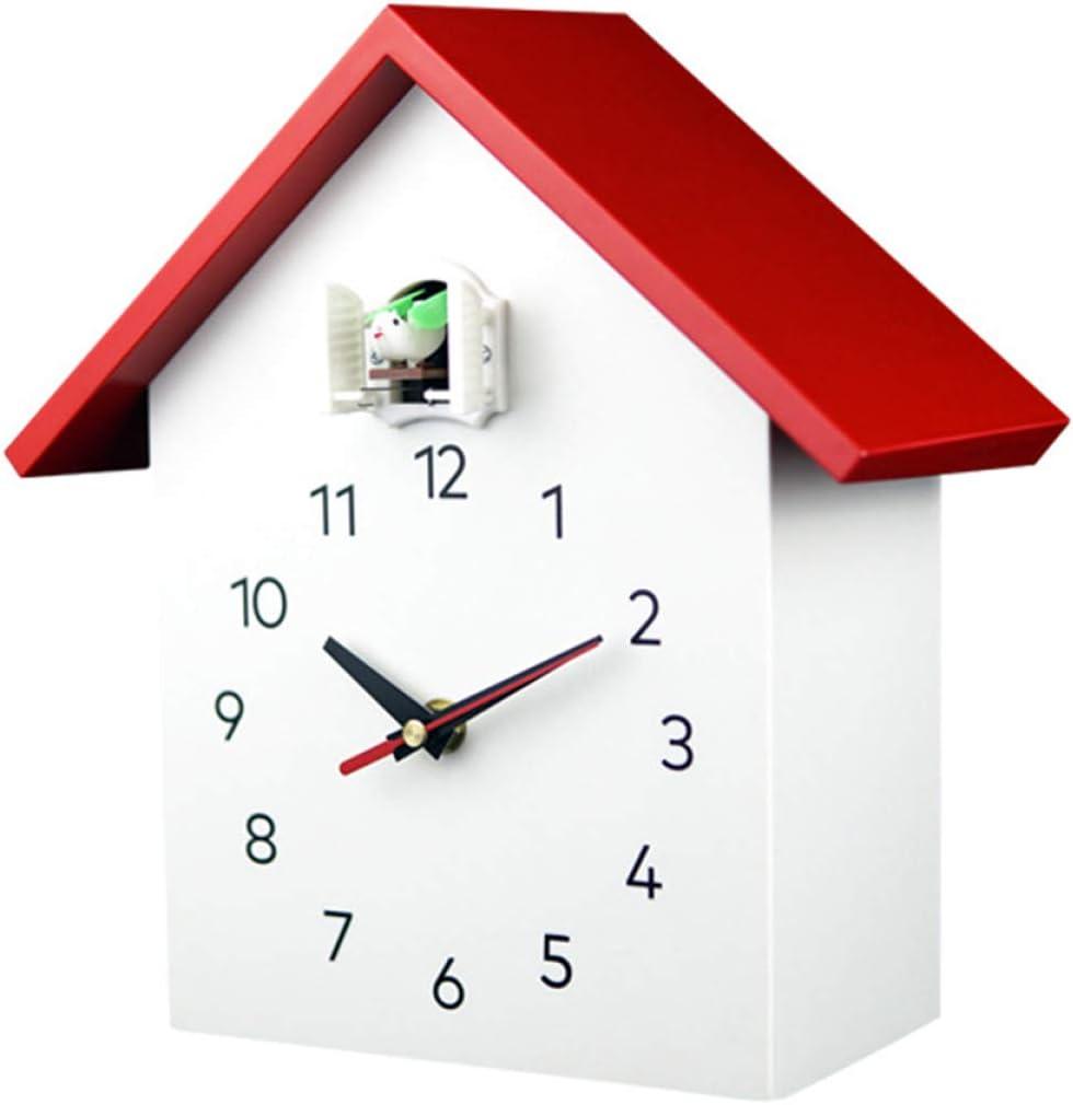 Reloj De Cuco Reloj Tradicional De La Casa De La Selva Negra Reloj De Péndulo Retro De Madera Antigua Decoración De Pared con Péndulo
