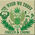 Licenses Products Cheech and Chong In Weed We Trust Image Magnet by C&D Visionary Inc.