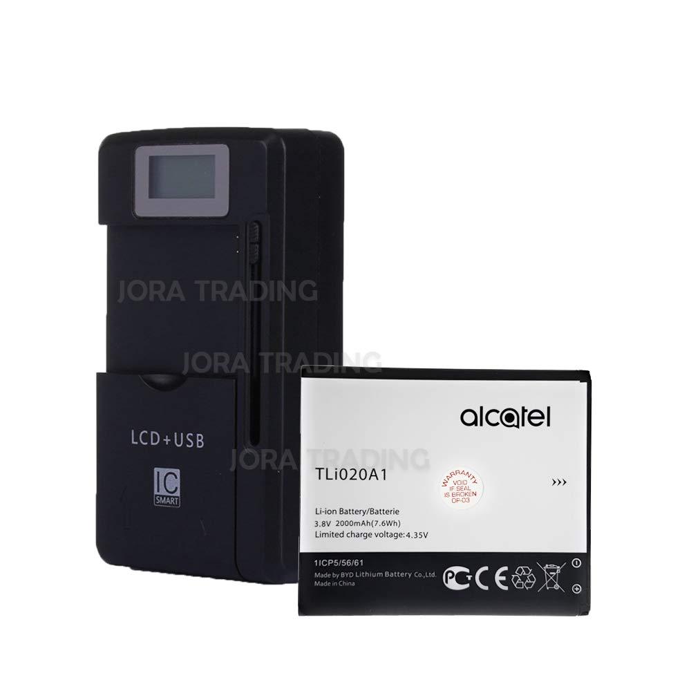 Amazon.com: Batería OEM TLi020A1 para Alcatel TRU 5065N ...