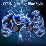 PS3 Controller Wireless Dualshock3 - OUBANG Upgrade Version Best PS3 Games Remote Bluetooth Sixaxis Control Gamepad Heavy-Duty Game Accessories for PlayStation3,with PS3 Charger