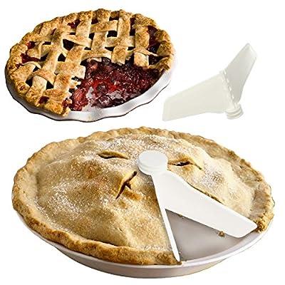 2 Beta Bake Pie Sealers Dessert Pan Quiche Casseroles Fresh Seal Storage Presere