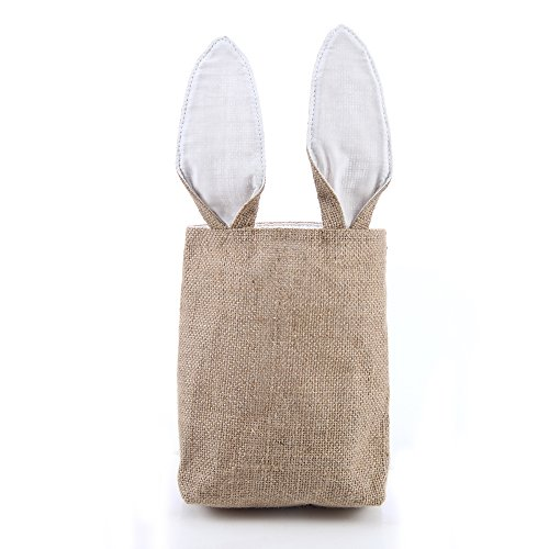 Liva Girl Bunny Bags Gift Bag for Personalized Burlap Bunny