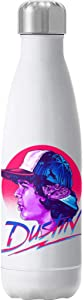 Cloud City 7 Dustin Montage Stranger Things Insulated Stainless Steel Water Bottle