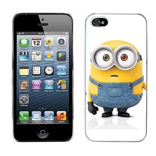 Moi moche et méchant Despicable Me Minions Film cas adapte iphone 5 couverture coque rigide de protection (28) case pour la apple i phone