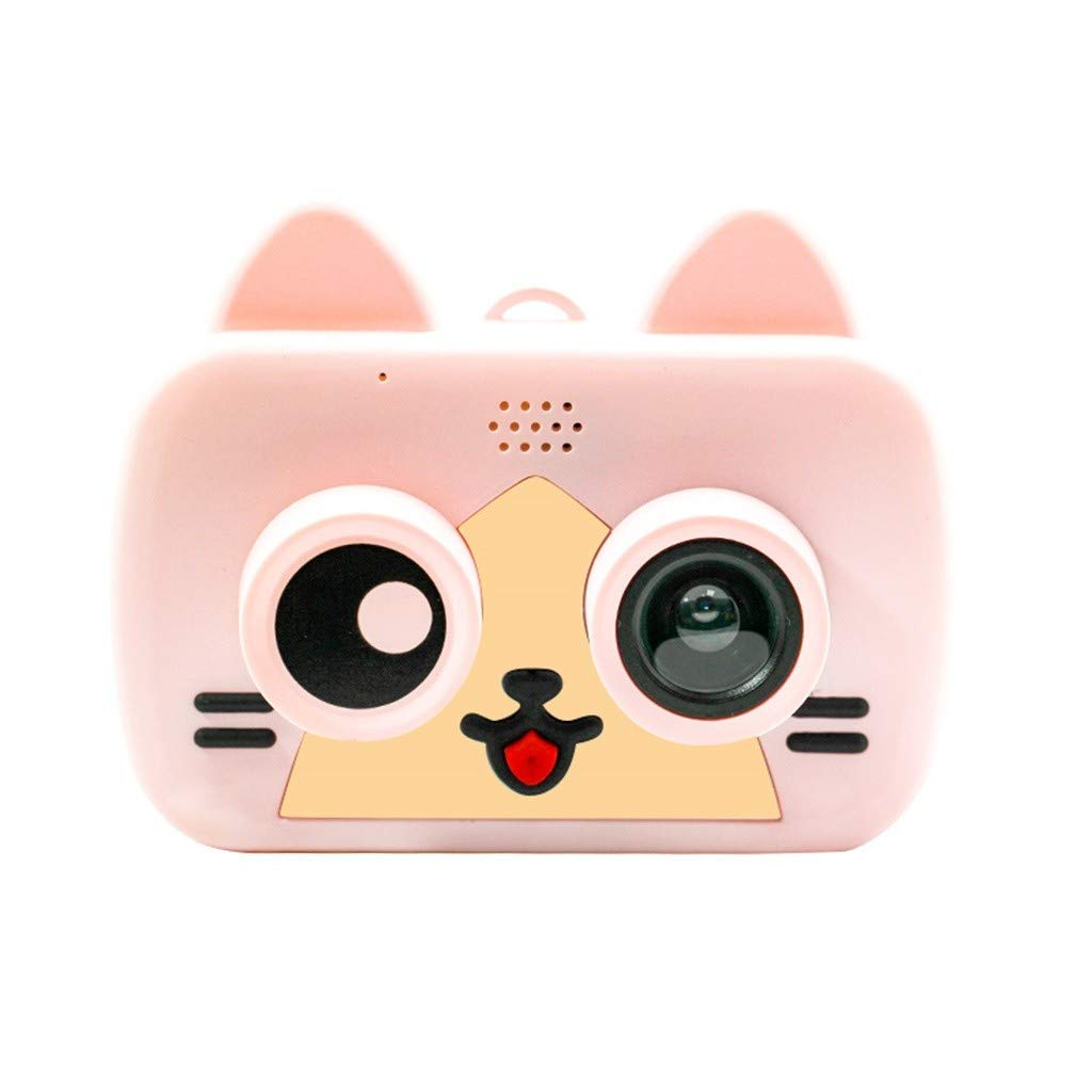 FGDJEE Kid Mini Cartoon Camera 1080P Rechargeable Digital Child Camcorder for Outdoor Cartoon Toy Children's Gift by FGDJEE