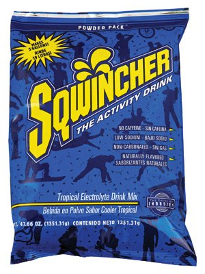 Cooler Sqwincher Tropical (SQWINCHER 016409-TC 5-Gal Tropical Cooler Powder Drink Mix (Price is for 16 Each/Case))