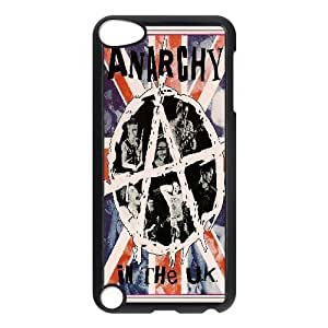 Bloomingbluerose Sex Pistols Ipod Touch 5 Cases Sex Pistols Anarchy In The UK, Men Sex Pistols, {Black}