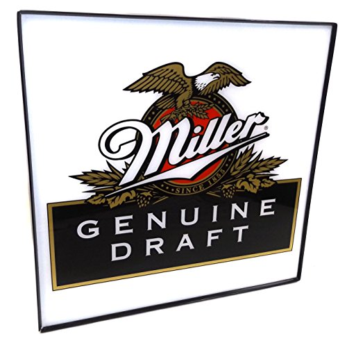 enuine Draft Beer Advertising Sign (Vintage Miller Genuine Draft)