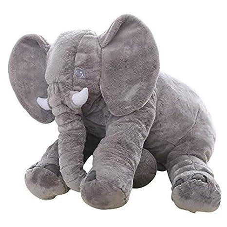 amazon com big soft baby elephant plush toy stuffed elephant