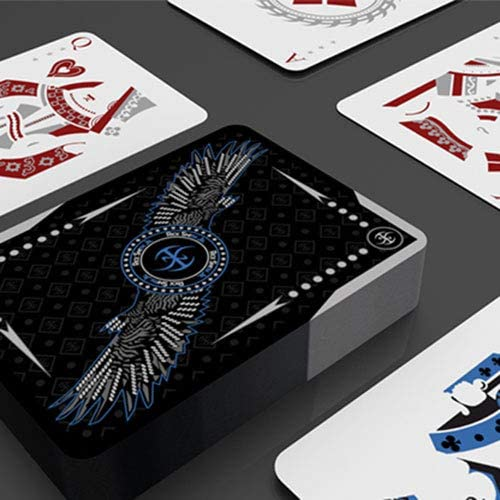 Foil and Devo SOLOMAGIA Silver Falcon Throwing Cards by Rick Smith Jr