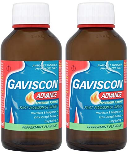 Liquid Gaviscon - Gaviscon Advance Liquid Peppermint Flavour 500ml Twin Pack