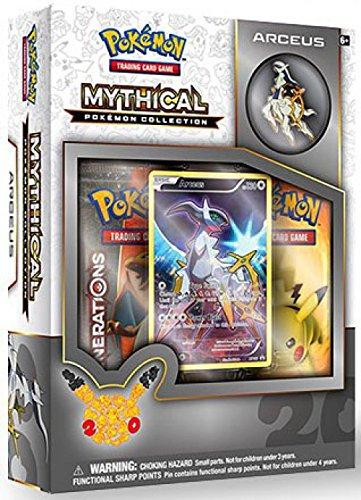 amazon com pokémon tcg mythical collection arceus card game toys