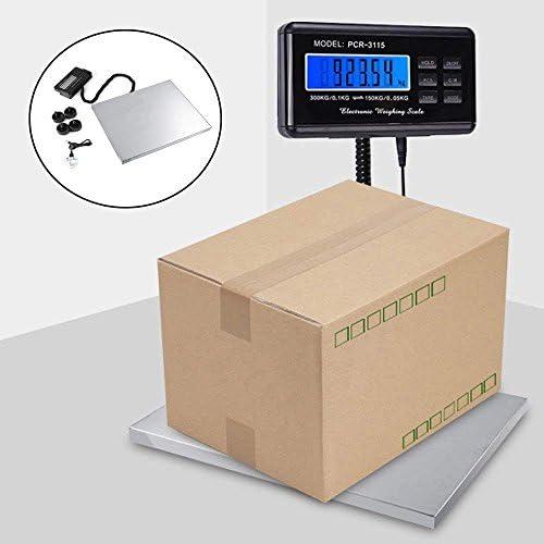 chollos oferta descuentos barato Báscula digital para paquetes LCD retroiluminación 150 kg 0 05 kg 300 kg 0 1 kg