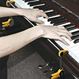 ELEOPTION Professional Stainless Steel Pianist Piano Hand Orthoses Wrist Braces Exerciser Type Gesture Corrector Tools for Beginners
