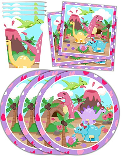 Girl Party Plates - 5