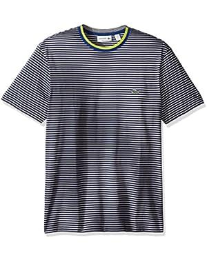 Men's Short Sleeve Resort Stripe Tee