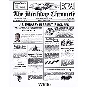picture regarding Free Printable Birthday Chronicle referred to as : Gombita Organizations The Birthday Chronicle PDF