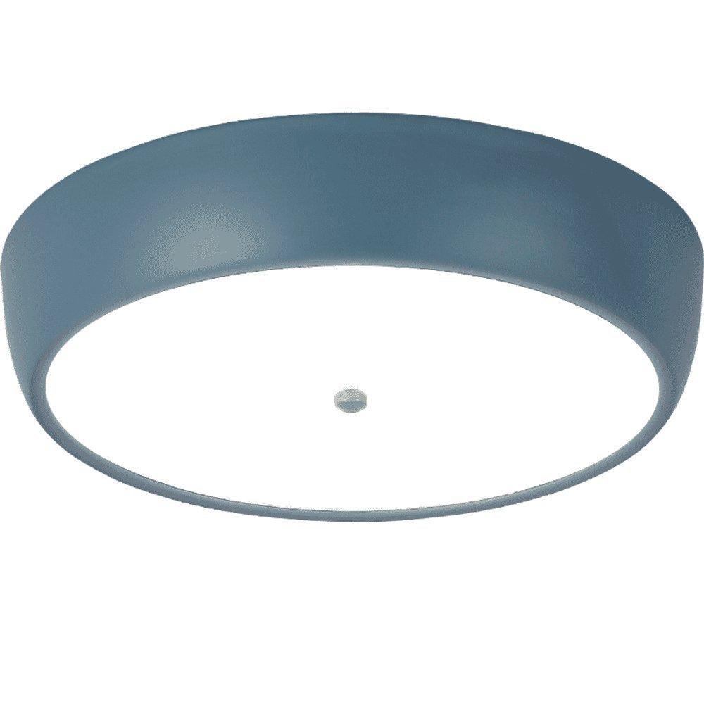 MEIHOME Deckenleuchten Kinderzimmer LED Ultra dünne 32,5  7,5 CM 18 W blau Deckenlampe für Schlafzimmer Wohnzimmer Küche Badezimmer