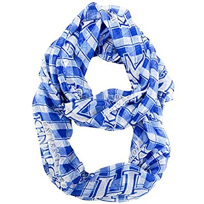 Kentucky Wildcats Infinity Scarf - Plaid - New Logo