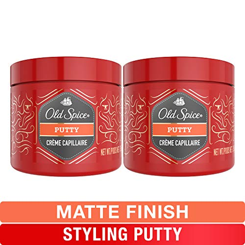 Old Spice, Styling Putty for Men, Hair Treatment, 2.64 oz, Twin Pack