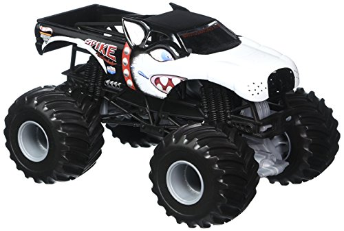 2011 HOT WHEELS (LARGE) 1:24 SCALE SPIKE UNLEASHED MONSTER JAM TRUCK