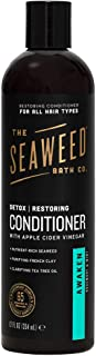 product image for The Seaweed Bath Co. Detox Conditioner, Awaken Scent (Rosemary and Mint), Restoring, With Natural Bladderwrack Seaweed, Vegan, Paraben Free, 12 oz.