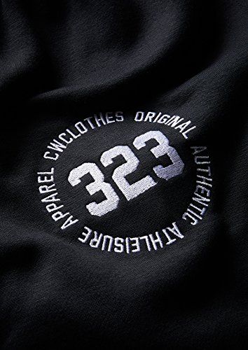 Uomo Pantaloncini Jersey Charles Essential Wilson Jogging Black Logo qxOPY