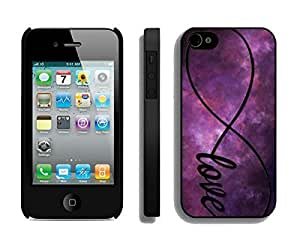 Pop Apple Iphone 4s Case Durable Soft Silicone TPU Diy Beautiful Infinity Love Galaxy Black Mobile Phone Case Cover for Iphone 4