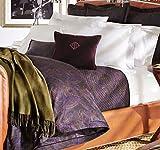 Ralph Lauren Home King FRAIZER Coverlet Purple Paisley -Frazier