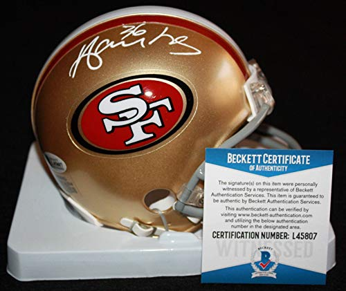 - Merton Hanks Autographed Mini Helmet - Iowa Hawkeyes Beckett BAS - Beckett Authentication - Autographed NFL Mini Helmets