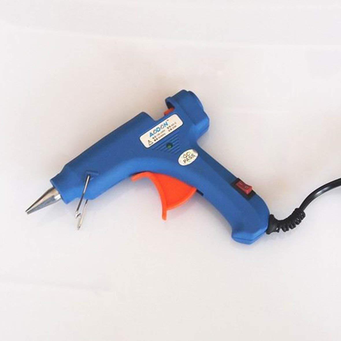 Heaviesk Klebepistole mit Schalter 20W Hei/ßklebepistole Hei/ßschmelzklebepistole Mini Klebepistole DIY Schmuck