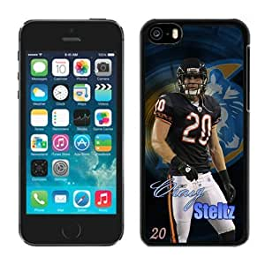 LJF phone case Customized iphone 4/4s Case NFL Chicago Bears Craig Steltz Team Member Moblie Phone Sports Protective Covers