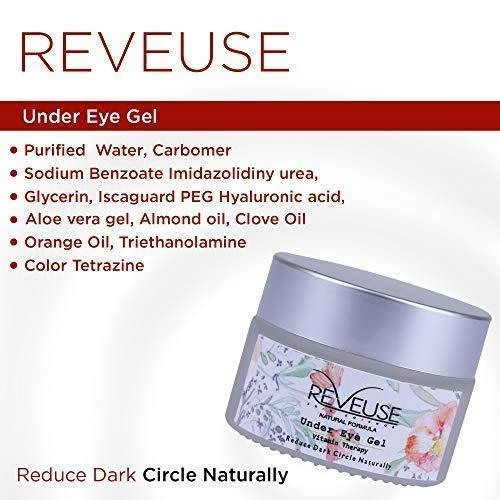 Under Eye Gel to Remove Dark Circles, Eye Wrinkles & Dark Spot