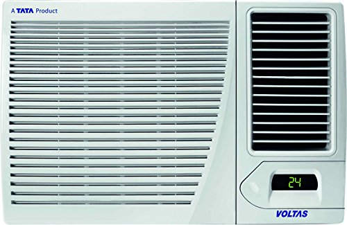 Voltas 1.5 Ton Hot & Cold Window AC (Copper, 18H CZP, White)