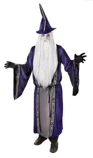 Amazon.com: Black & Grey Men's Wizard Robe Costume: Home Improvement