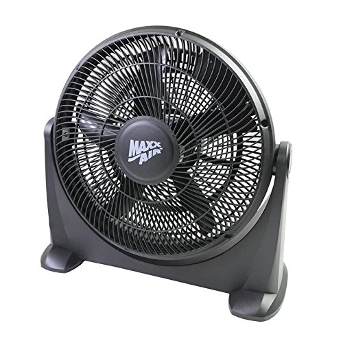 Maxxair HVFF 14 14 in. 3 Speed Floor Fan with Safety Fuse