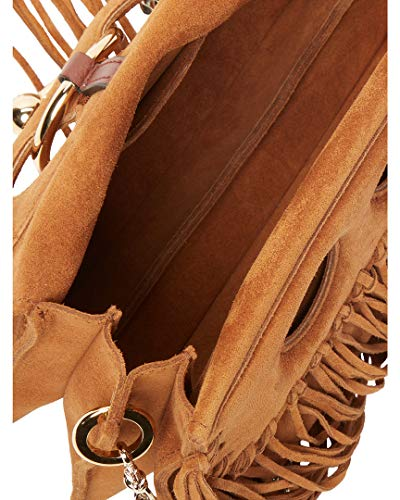 Pierce J Crossbody Anderson Fringe W Suede Mini atrwtq