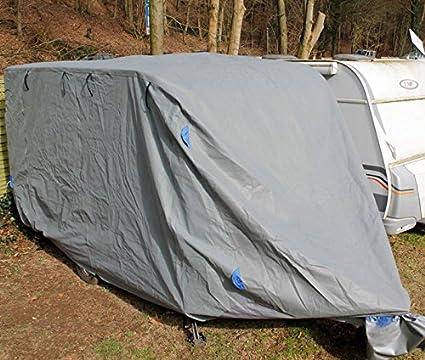 1PLUS Abdeckplane Ganzgarage Schutzhü lle fü r Wohnwagen (M (550 x 250 x 220 cm)) incubado GmbH