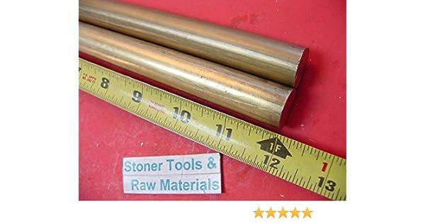 "3//4/"" C360 BRASS ROUND ROD 13/"" long Solid New Lathe Bar Stock  H02 .750/"" Diameter"