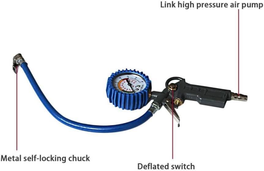 Gcroet 1pc Bewegliches Digital-reifendruckmessger/ät Multifunktions-Durable-digital-Reifen Inflator Mit Manometer F/ür Auto-LKW-Fahrrad