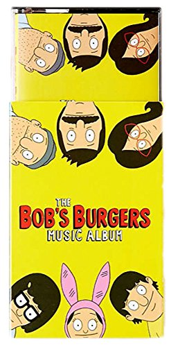 The Bob's Burgers Music Album 2X Exclusive Green and Yellow Cassette Tape