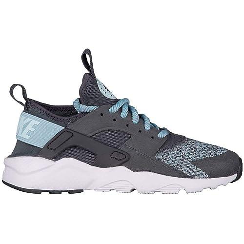Zapatillas NIKE Air Huarache Run Ultra Gris/Azul Mujer 38 5 Gris: Amazon.es: Zapatos y complementos