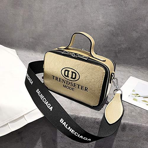 Sauvage Or Appareil bandoulière Femme Bag Mode de la Sac carré Portable Sac bandoulière Petit coréenne Version marée Sac Messenger WSLMHH Sac Photo à à gR8qOO
