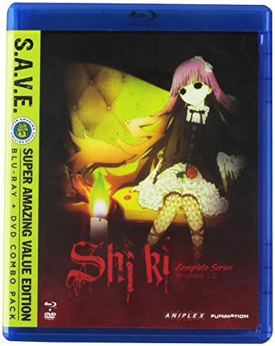 Shiki: The Complete Series [Blu-ray] (Best Horror Action Anime)