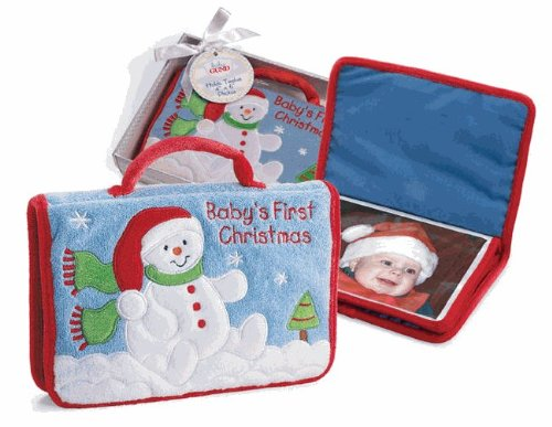 - GUND Baby's First Christmas Photo Album