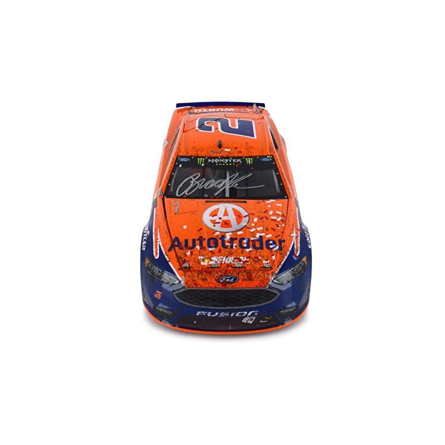 Lionel Racing Autographed Brad Keselowski 2017 Atlanta Win Autotrader Raced Version NASCAR Diecast 1:24 Scale