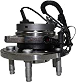 Detroit Axle Front Driver Side Complete Wheel Hub and Bearing Assembly 2004-2007 Ford Freestar